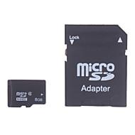 tanie Karty pamięci-8 GB Micro SD TF karta karta pamięci class4