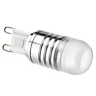 billige Spotlys med LED-3W 70-100 lm G9 LED-spotpærer 1 leds Høyeffekts-LED Varm hvit Kjølig hvit DC 12 V