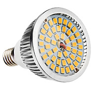 6W E14 LED Spotlight MR16 48 SMD 2835 500-600lm Warm White 3500K AC 100-240V