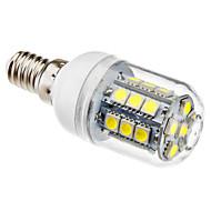 billige Globepærer med LED-1pc 3 W 5500 lm E14 LED-kornpærer T 27 LED perler SMD 5050 Naturlig hvit 220-240 V