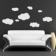 Χαμηλού Κόστους Αυτοκόλλητα Τοίχου-Διακοσμητικά αυτοκόλλητα τοίχου - Αεροπλάνα Αυτοκόλλητα Τοίχου Τοπίο Σαλόνι / Υπνοδωμάτιο / Τραπεζαρία