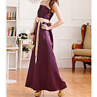 Kvinder Bandeau Bow Self-Belt Maxi Dress