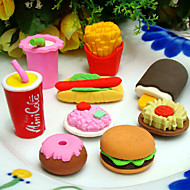 posebni dizajn brusilice u obliku brze hrane (4 komada) za školu / ured