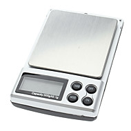 500g 0.1g Digital Diamante Jóias Pocket Pesar Scale