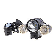 Bike Lights Front Bike Light LED Cree Cycling Alarm Rechargeable 18650 1800 Lumens Battery Cycling/Bike