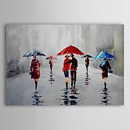 billiga Topp Konstnär-iarts®hand målad oljemålning landskap regn med sträckt ram 1309-ls0917