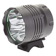 ieftine -Iluminatoare Frontale Lumini de Bicicletă LED 4000 Lumeni 3 Mod Cree XM-L T6 18650Camping/Cățărare/Speologie Utilizare Zilnică Ciclism