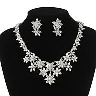 Conjunto de jóias Mulheres Aniversário / Casamento / Noivado / Presente / Festa / Ocasião Especial Conjuntos de Joalharia Zircônia Cubica