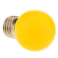E26/E27 LED-globepærer 12 leds Varm hvit 60lm 2900K AC 220-240V