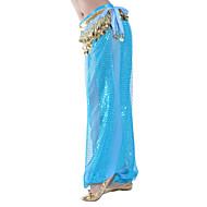 Χαμηλού Κόστους -Χορός της κοιλιάς Παντελόνια Φούστες Γυναικεία Εκπαίδευση Σιφόν Παγιέτες Φυσικό Παντελόνια / Αίθουσα χορού