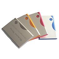 billige Tilpasset Stationery-personlig fars dag gave slik farve indgraveret visitkortholder (assorterede farver)