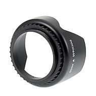 Universal 55mm Screw Mount modlysblænde til Nikon / Canon