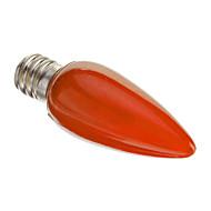 0.5W E12 LED 캔들 조명 C35 LED가 장식 레드 50lm 2000K AC 220-240V
