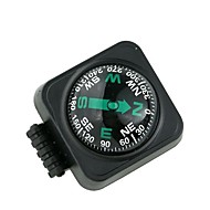 Large Car Compass with Surface Mount - Black