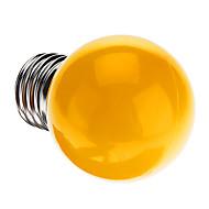 billige Globepærer med LED-1pc 0.5 W 50 lm E26 / E27 LED-globepærer G45 7 LED perler Dyp Led Dekorativ Gul 220-240 V / RoHs