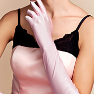 cheap Wedding Gloves-Spandex Elbow Length Glove Bridal Gloves Classical Feminine Style