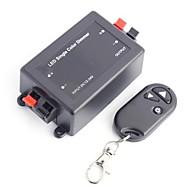 billige Lampesokler og kontakter-trådløs rf ledet enkelt dimmerbryter ledet regulator med fjernkontroll (dc12-24v 1 kanal)