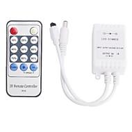 billige Lampesokler og kontakter-Smart IR-D DC 12V enkeltkanal 6A IR Dimmer Controller - Hvit (1 x CR2025)