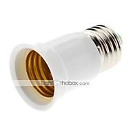 billige Lampesokler og kontakter-ZDM® 1pc E27 til E27 E26 / E27 85-265 V Plast og Metall / Plast Lyspære socket