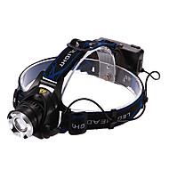 お買い得  フラッシュライト/キャンプ用ランタン-ヘッドランプ LED 900/1600/1200/450lm 3 照明モード バッテリー&チャージャー付き 充電式 多機能