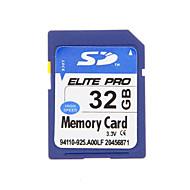 エリートプロ高品質の32ギガバイトのSDHC SDメモリーカード