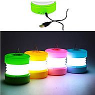 ABS USB LED natlys (assorteret farve)
