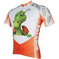 ILPALADINO Muškarci Kratkih rukava Biciklistička majica Crtani film / Životinja Bicikl Biciklistička majica, Quick dry, Ultraviolet