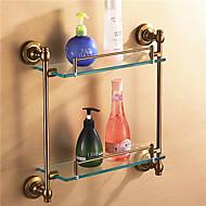 浴室棚 / アルミニウム アルミ ガラス /アンティーク
