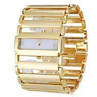billige Quartz-Dame Armbåndsur Japansk Afslappet Ur Rustfrit stål Bånd Luksus / Elegant Sølv / Guld