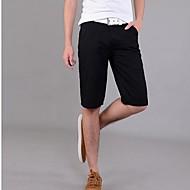 Herre Chic & Moderne Shorts Jeans Bukser Ensfarvet
