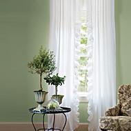 billige Gardiner-gardiner gardiner Stue Ensfarget Polyester