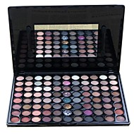 cheap Eye Shadows-Professional 88 Color Marble Natural Makeup Eye Shadow Palette with Mirror/Brush