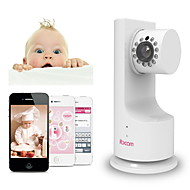 billige IP-kameraer-ibcam trådløse hjemme ip nettverk wifi sikkerhet kamera for baby med p2p musikk spille toveis talk