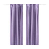 billige Gardiner-Et panel Window Treatment Moderne Ensfarget Stue Polyester Materiale Hjem Dekor