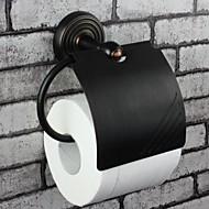 トイレットペーパーホルダー / オイルドアンティーク加工ブロンズ アンティーク