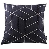 1.0 kpl Puuvilla/pellava Tyynynpäälinen,Geometrinen Moderni/nykyaikainen