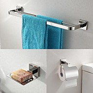 economico Serie bagno-Set di accessori per il bagno Moderno Acciaio inossidabile 1pc - Bagno dell'hotel