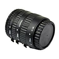 auto-focus tub de extensie macro pentru Canon EOS EF EF-S cu aluminiu la cuptor monta lac negru