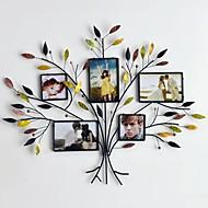 kovové stěny umění nástěnné dekorace, strom rám s dekorativní skořápky na stěnu