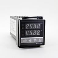 """1.2 """"condusă de control al temperaturii de tip K 100-240v rex-C100 + termocuplu"""