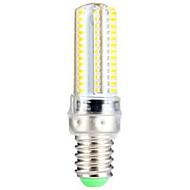 billige Kornpærer med LED-3.5 W 300-350 lm E14 LED-kornpærer T 104 LED perler SMD 3014 Varm hvit 220-240 V