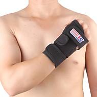 Suporte de Mão & Punho Suporte para Esportes Protecção Respirável Fitness Corrida Preta