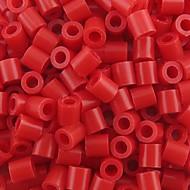 아이 공예에 대한 약은 500PCS / 가방 5mm 빨간색 퓨즈 비즈 하마 비즈 DIY 퍼즐 EVA 소재의 추구한다