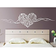 Romance Still Life Fashion Florals Abstract Wall Stickers Plane Wall Stickers Decorative Wall Stickers,Vinyl Material RemovableHome