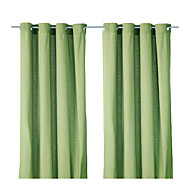 One Panel Curtain Modern Solid Polyester Material Curtains Drapes Home Decoration