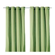 billige Gardiner-Et panel Window Treatment Moderne Ensfarget Polyester Materiale gardiner gardiner Hjem Dekor