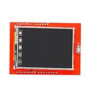 """DIY 2,4 """"TFT LCD berøringsskjerm skjold utvidelseskort for arduino uno"""