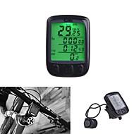 """Kilometraj Bicicletă Impermeabil Fără fir Setează circumferința cauciucurilor Ceas Odo - Odometru + """"- De comparare Auto On/Off"""