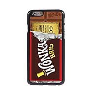 billiga Mobil cases & Skärmskydd-fodral Till iPhone 7 iPhone 7 Plus iPhone 6s Plus iPhone 6 Plus iPhone 6s iPhone 6 iPhone 6 Plus iPhone 6 Mönster Skal Tecknat Hårt Metall