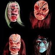 siliconen materiaal themafeest halloween masker (willekeurige kleur)